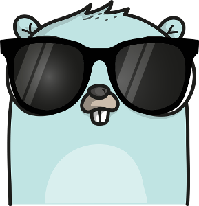 Gopher with sunglasses